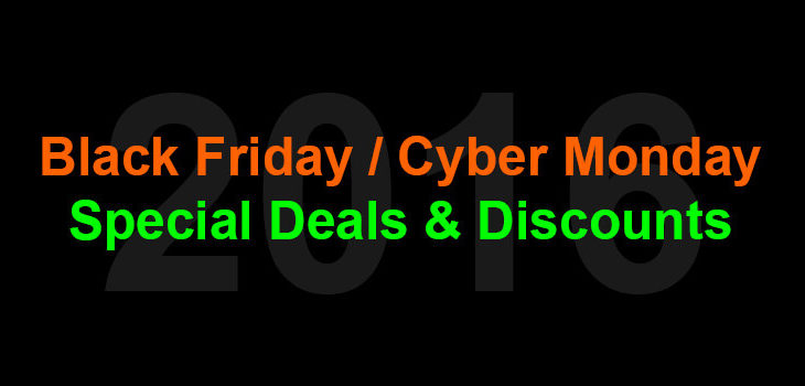 Black Friday / Cyber Monday 2016