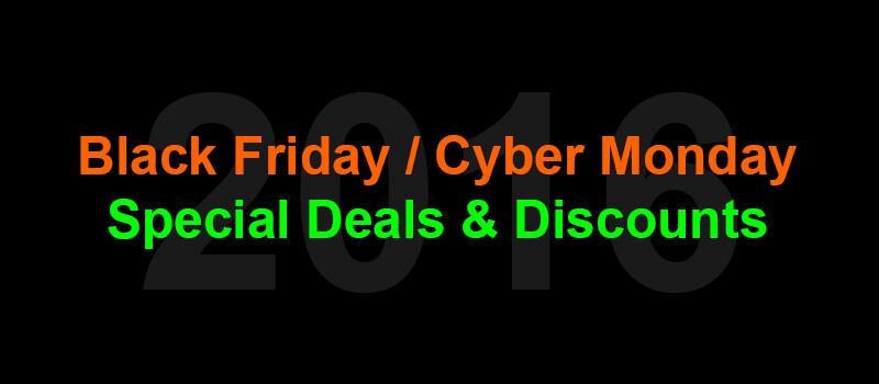 Black Friday / Cyber Monday 2016