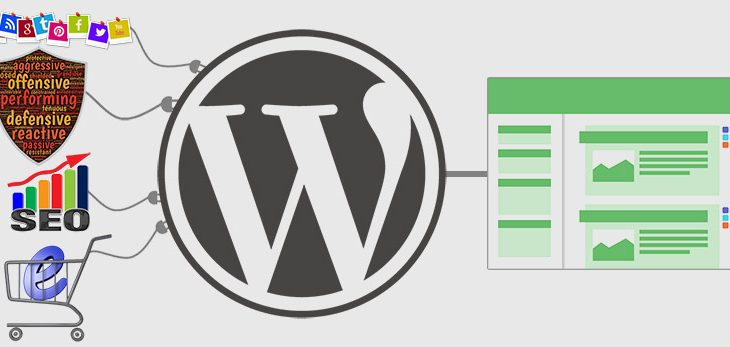 Install and activate wordpress plugin and theme